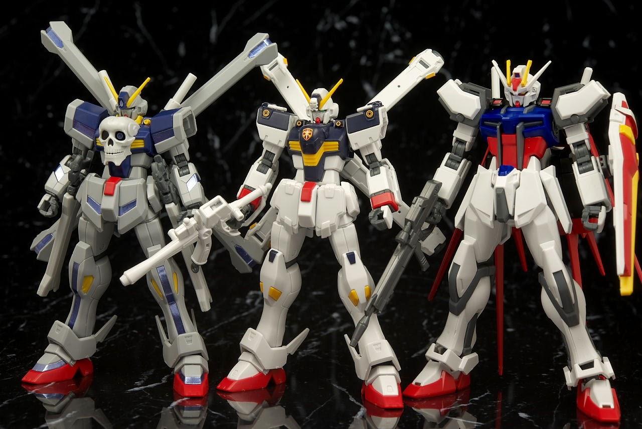 Bandai Hguc Crossbone Gundam X1