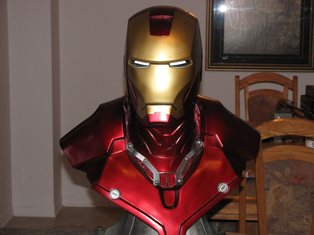 I Is For Iron ~ Iron man mk